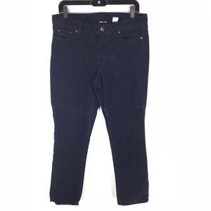 J Crew Navy Corduroy Pants